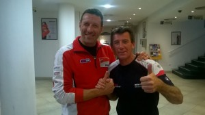 Mirco Moto_Barcellona 2015 - Mirco e Troy Corser
