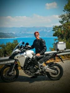 Mirco Moto_Tania Tegner_Lac Saint Croix 2016_Ducati Multistrada Enduro
