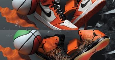 Basketbalové tenisky Air Jordan 1 a 31 Shattered Backboard