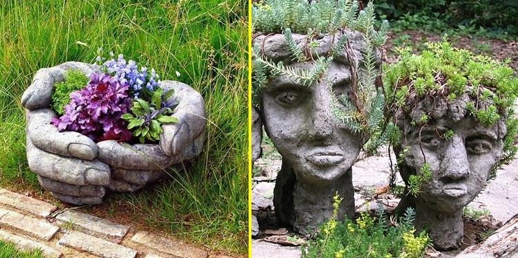 Květináče a další zahradní dekorace z hypertufy