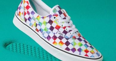Tenisky Vans Tie-Dye Checker ComfyCush Iconic Print