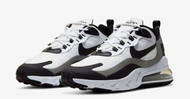 Tenisky Nike Air Max 270 React White Black