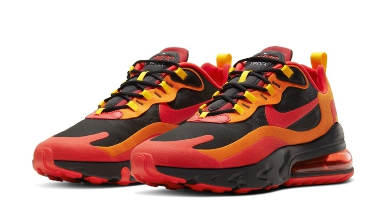 Tenisky Nike Air Max 270 React Lava Red Hot