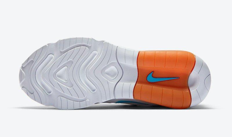 Tenisky Nike Air Max 200 Grey Laser Blue CT1262-001