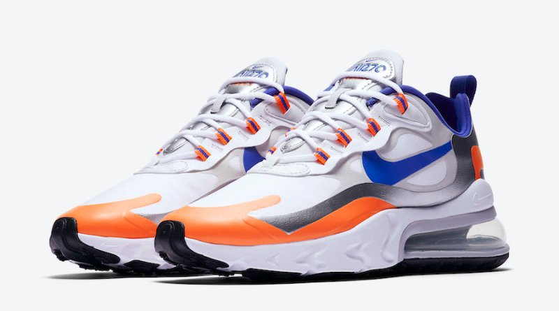 Tenisky Nike Air Max 270 React Royal Blue Swoosh