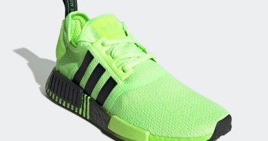 Tenisky adidas NMD R1 Signal Green FV3647