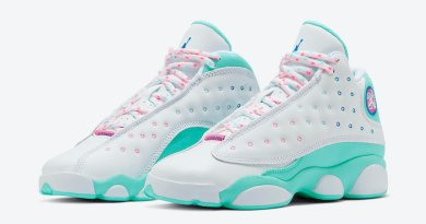 Air Jordan 13 GS Aurora Green 439358-100