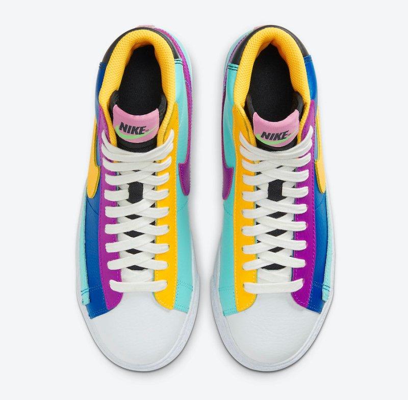 Tenisky Nike Blazer Mid Aurora Vivid CZ9441-400