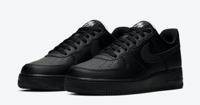 Tenisky Nike Air Force 1 Triple Black CJ1607-001