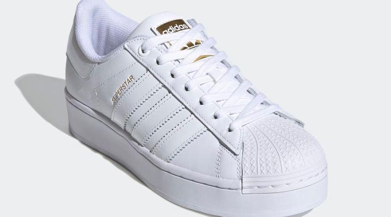 Tenisky adidas Superstar Bold White Gold FV3334