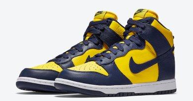 Tenisky Nike Dunk High Michigan CZ8149-700