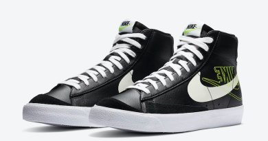 Tenisky Nike Blazer Mid Black Volt DA4651-001
