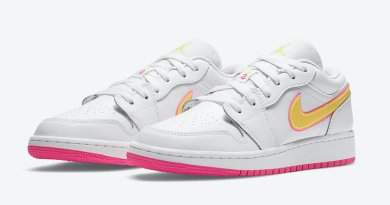 Tenisky Air Jordan 1 Low GS Yellow Volt CV4610-100