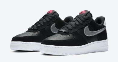 Tenisky Nike Air Force 1 WMNS Black Pink DA4282-001