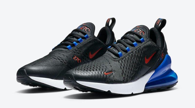 Tenisky Nike Air Max 270 Black Blue DC0957-001