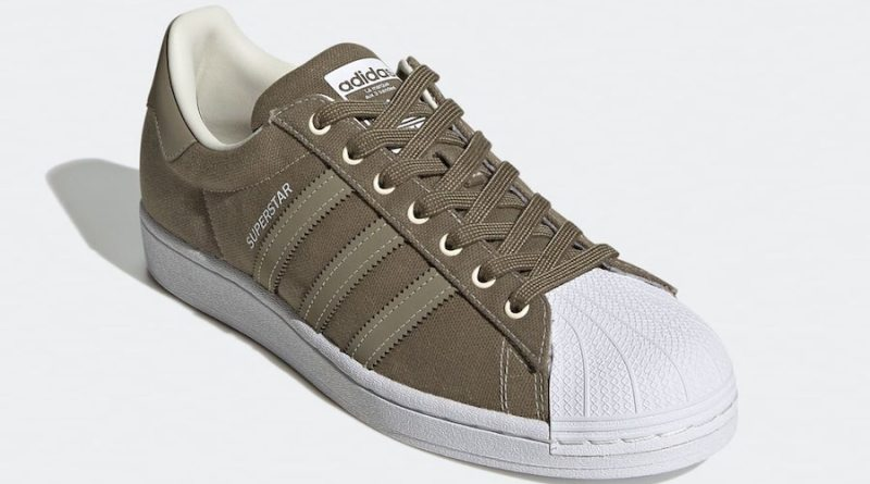 Tenisky adidas Superstar Canvas Green FW2653
