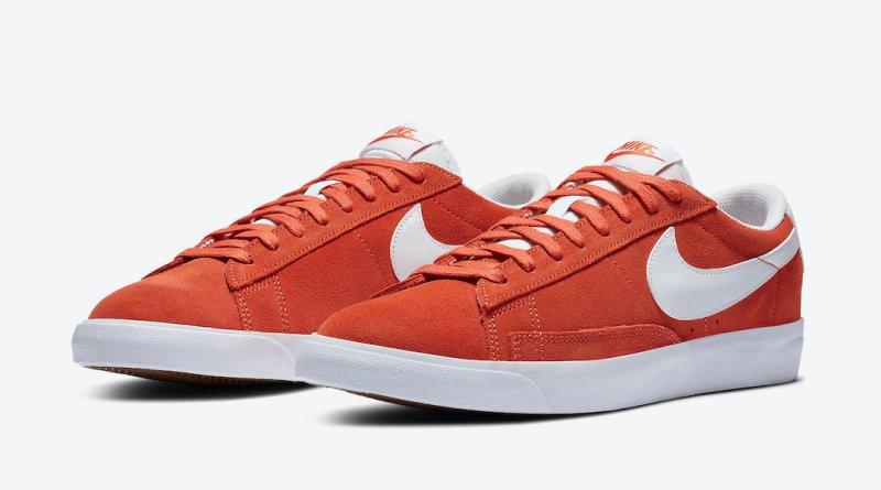 Tenisky Nike Blazer Low Mantra Orange CZ4703-800