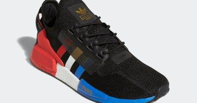 Tenisky adidas NMD R1 V2 Black Blue Red FY2070