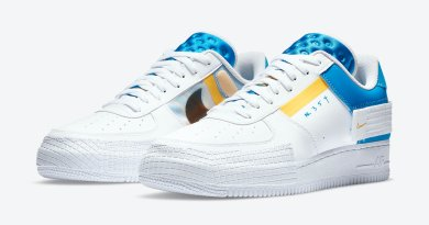 Tenisky Nike Air Force 1 Type White Blue CK6923-101