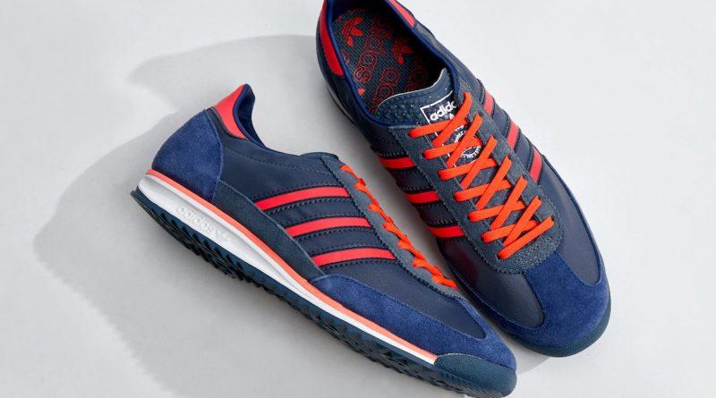 Tenisky adidas SL 72 Blue Solar Red FV9783