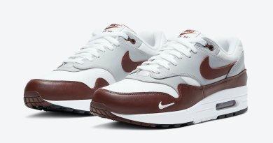 Tenisky Nike Air Max 1 White Brown DB5074-101