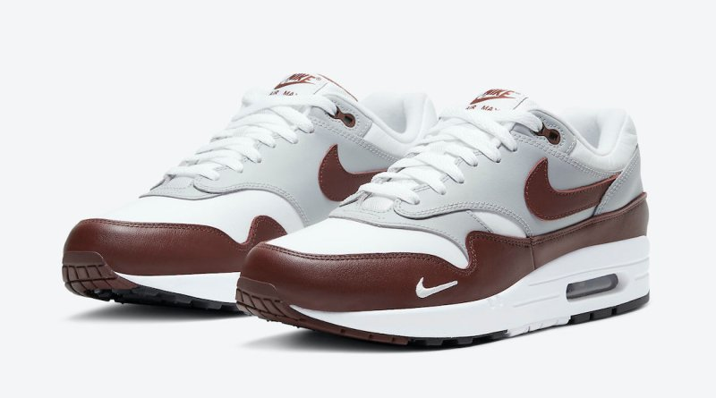 Tenisky Nike Air Max 1 White Brown DB5074-101
