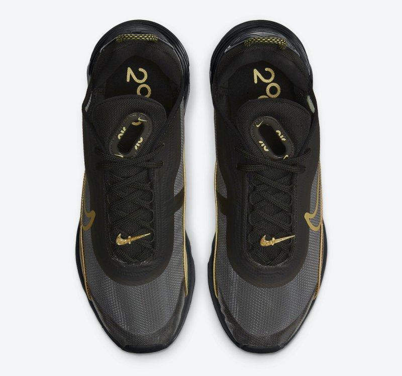 Pánské černé tenisky a boty Nike Air Max 2090 Black/Metallic Gold DC2191-001 nízké sportovní botasky a obuv Nike