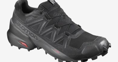 Pánské černé tenisky a boty Salomon Speedcross 5 GTX GORE-TEX Black/Black/Phantom 407953 běžecké botasky a obuv Salomon