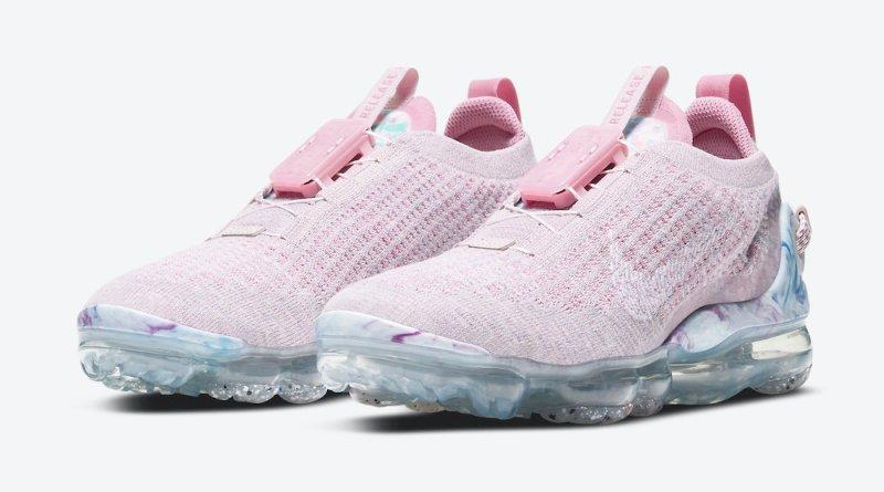 Dámské růžové tenisky a boty Nike Air VaporMax 2020 Violet Ash/White-Light Arctic Pink-Violet-Magic Flamingo CT1933-500 botasky a obuv