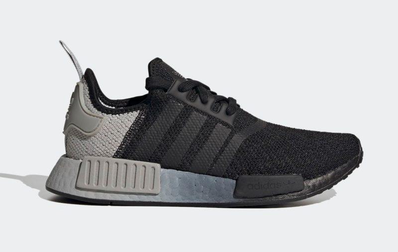 Dámské černé tenisky a boty adidas NMD R1 Core Black/Core Black-Grey Two FV1791 nízké sportovní botasky a obuv adidas
