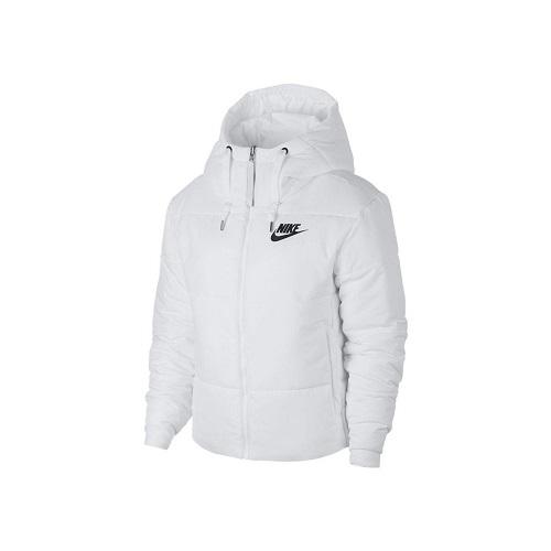 Dámská zimní bunda Nike Synthetic Fill bílá