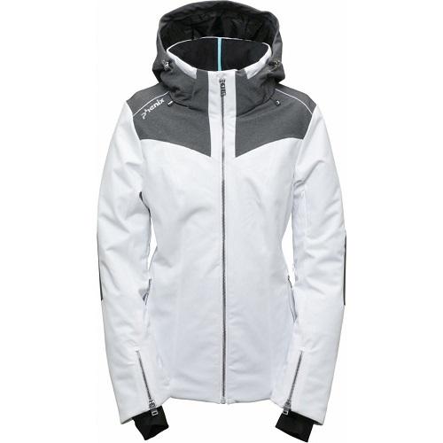 Dámská zimní bunda Phenix Kitami 19 bílá