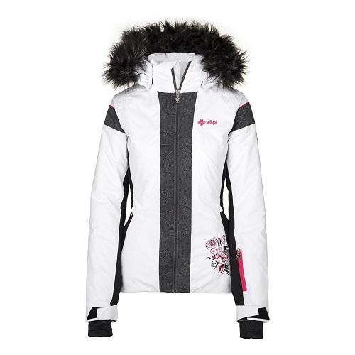 Dámská zimní lyžařská bunda Kilpi Delia W bílá