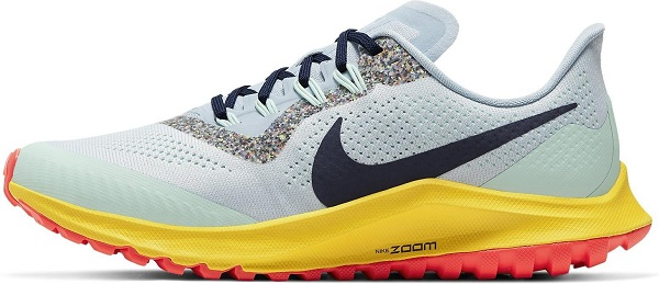 Dámská trailová obuv Nike Air Zoom Pegasus 36 Trail světle modrá