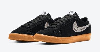 Pánské černé tenisky a boty Wacko Maria x Nike SB Blazer Low Black/White-Gum DA7257-001 nízké skate botasky a obuv Nike