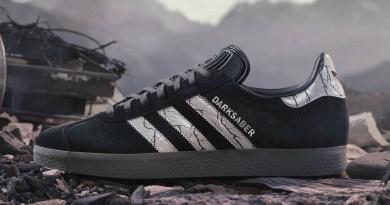 Pánské černé tenisky a boty Star Wars x adidas Gazelle Core Black/Silver Metallic-Grey Four GZ2753 sportovní botasky a obuv adidas