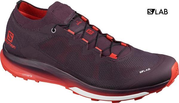 Trailové dámské boty Salomon S LAB Ultra 3 L41266100 vínové