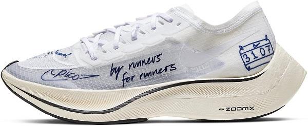 Běžecká pánská obuv Nike ZoomX Vaporfly Next BRS CU4844-100 bílé