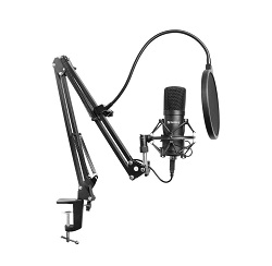 Herní elektretový mikrofon Sandberg Streamer 126-07