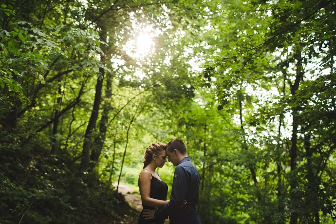 samobor old town engagement session mirela bauer photography in the woods