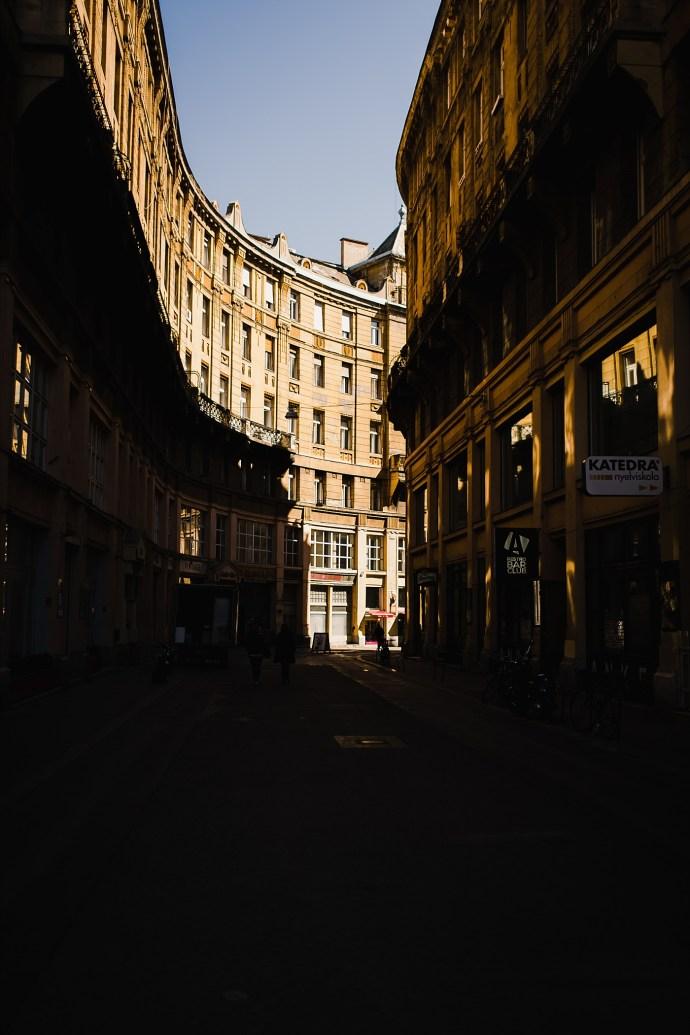 image shows budapest strret mirela bauer photo