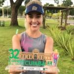 Meu primeiro troféu como corredora