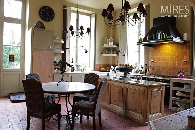 cuisine moderne et tomette c0014