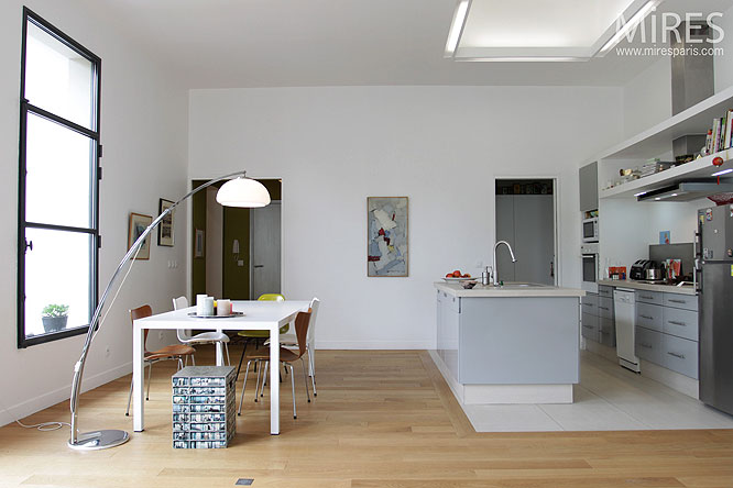 Cuisine Ouverte Moderne C0125 Mires Paris