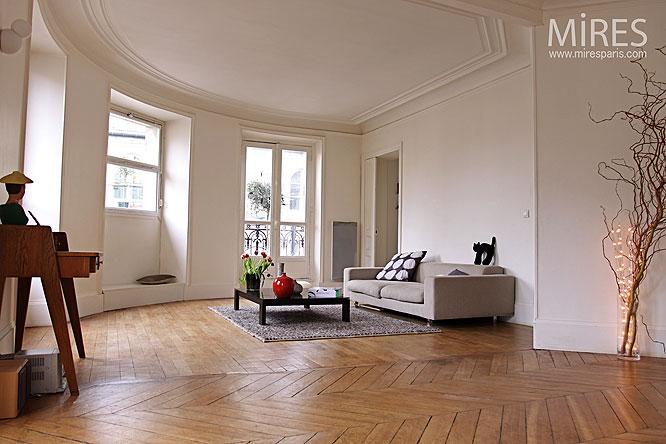 Double Sjour Haussmannien C0104 Mires Paris