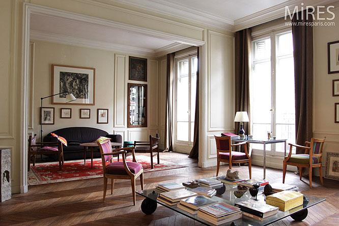 Double Sjour Haussmannien C0193 Mires Paris