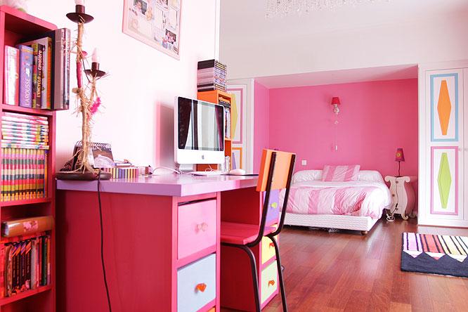 Chambre Rose C0222 Mires Paris