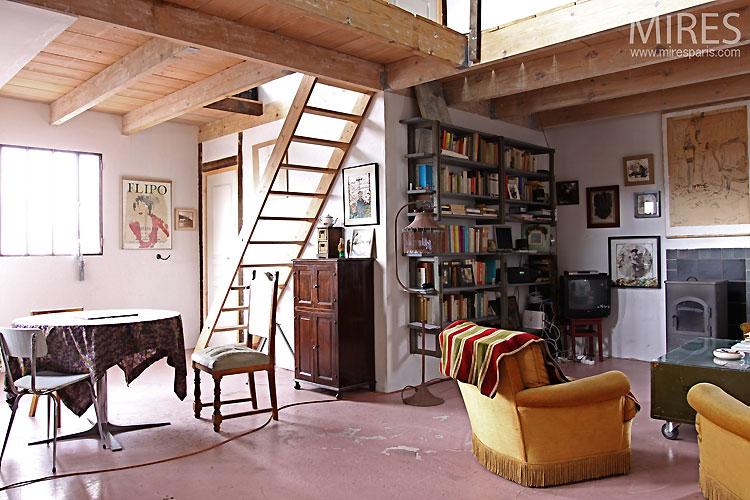 Intrieur Dartiste C0340 Mires Paris