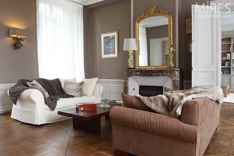 Beautiful Chambre Marron Glace Images - House Design - marcomilone.com