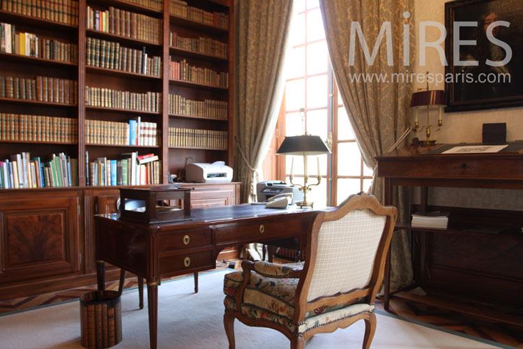 Bureau Bibliothque C0998 Mires Paris